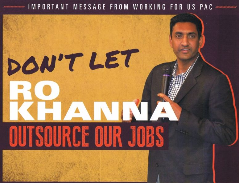 Supporters Of Incumbent Congress Member Mike Honda Have Reached A New Low.  Theyu0027ve Sent Out A Xenophobic Mailer Falsely Accusing Indian American  Candidate ...